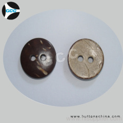 Genuine Coconut 2 Hole Button