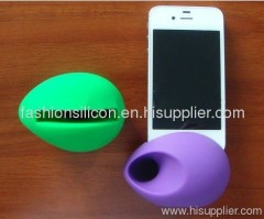 silicone horn for iphone