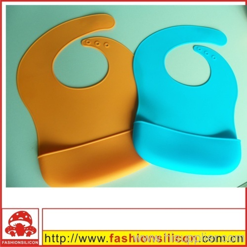 Flexible silicone Adult bibs