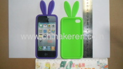 Silicone mobile phone bag