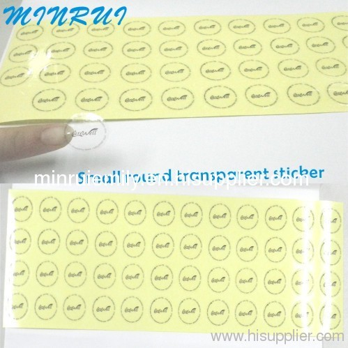Custom Clear Vinyl Stickers Printing From China Manufacturer - Custom clear vinyl stickers