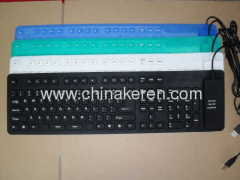 2013 flexible silicone 109 keys keyboards