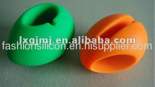 Silicone speaker stand cases