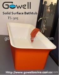 Colored Bathtub Solid Surface