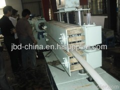 plastic drainage pipe making machine