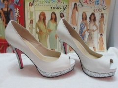 white high heel dress shoes for women