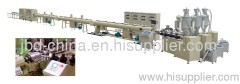 PPR three layer pipe extrusion machine