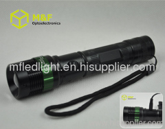 high power tactical flashlight rechargeable