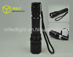 5w rechargeable police flashlight