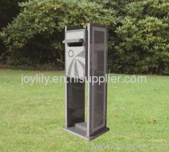 garden stone mailbox
