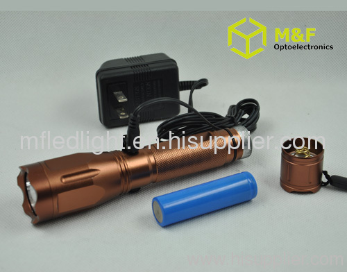 rechargeable cree led torch light