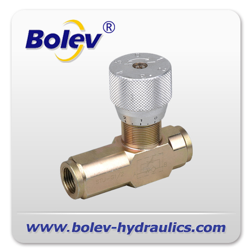 Flow Forces On Poppet Valves: STU Hydraulic Flow Control Valve Products From China