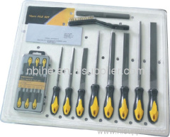 16pc Multi purpose needle file and steel file set