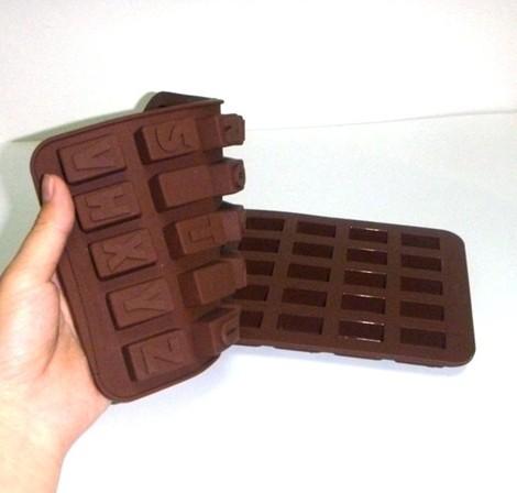 Cute shape silicone chocolate mould