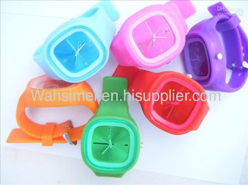High quality silicon watches