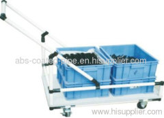 Lean Trolley by Lean Pipe and Metal Connectors