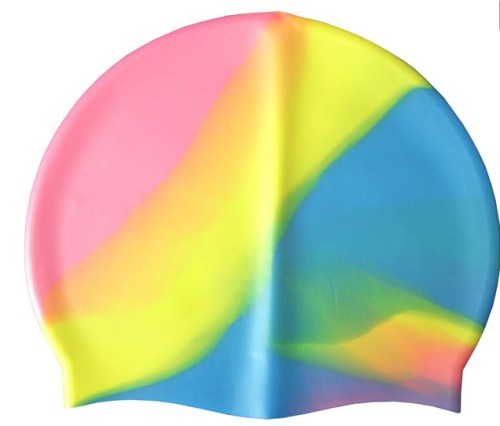 Fashion custom silicone swimming hat