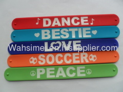 silicone sport bracelet for fashion