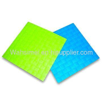 Eco friendly food grade transparent Silicone Mat