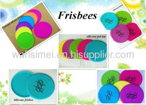 Silicon frisbee wholesale China factory