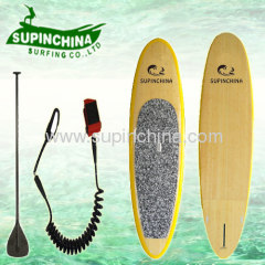 Bamboo paddle board 10'6