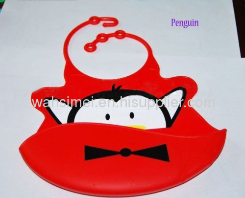 Factory direct with patent silicone baby bib