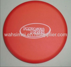 Silicone flying disc for promotional gift