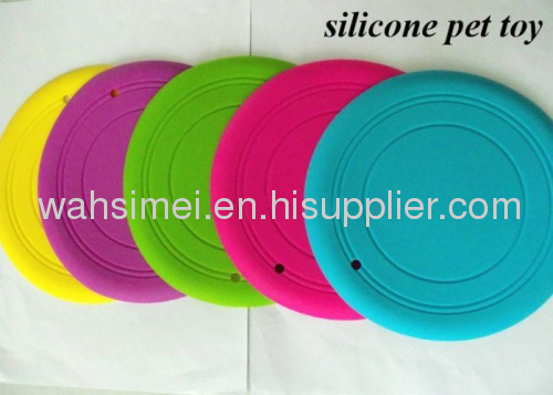 Cheap silicone flying disc for silicon promotional gift in top FDA quality