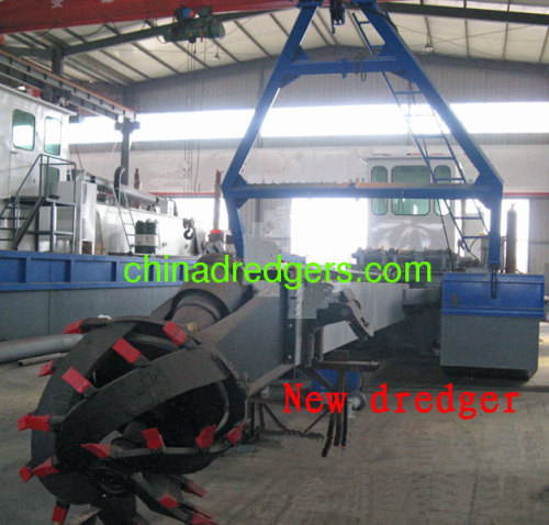 High efficiency Cutter head suction dredger boat for sale