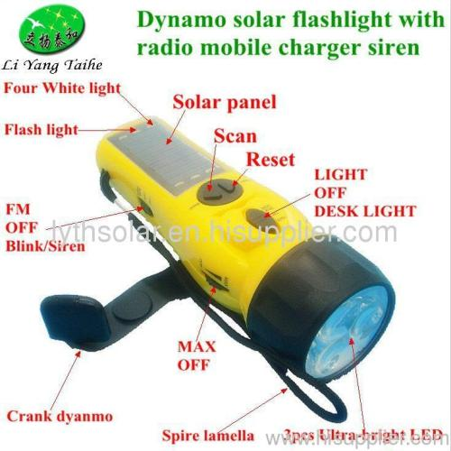 Dynamo Solar Radio Flashlight