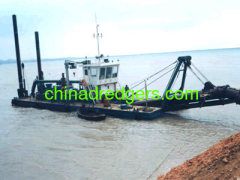 China 18 inch 3500m3/hr Cutter Suction Dredger