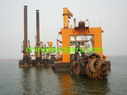 sea sand pump dredger