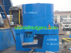 Gold gravity separator machine