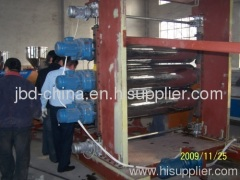 PP/PE/ABS/PS plate extrusion machine
