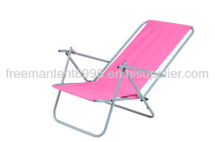 Pink Outdoor folding beach chair