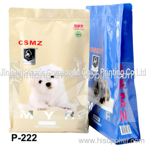 zipper dog food bag