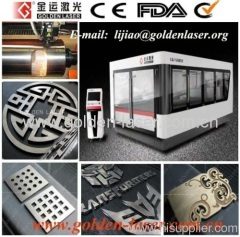 Fiber Laser Cutter Metal With Double Ball Screw