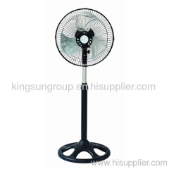 metal blade stand fan