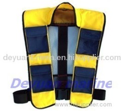 275 N inflatable life jacket