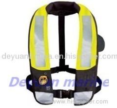 275N inflatable life jacket