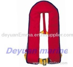 DY703 inflatable life jacket