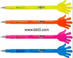 2012 New style plastic palm promotion pen