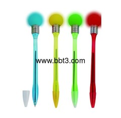 2012 New style plastic bulb lighting promotion pen