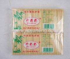 JiaHeng Brand Bamboo toothpicks 200 stick per bottle -12 bottles