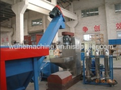 plastic scrap recycling machinery