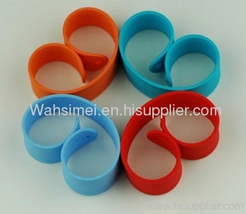 2012 newest silicone wristband Papa slap bracelet