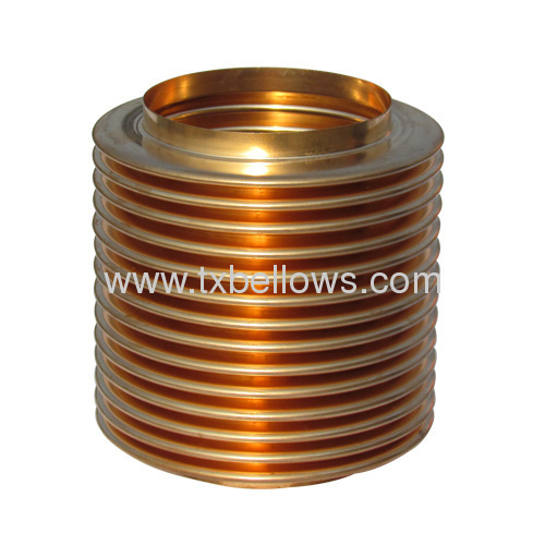 WW type hydraulic forming copper bellows for controlling