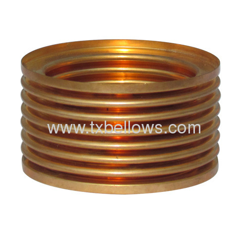 NN type tin phosphor bronze bellows for temperature controlling