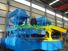 Gold panning Ship-Suction Type Dredger