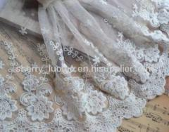 Embroidery cotton lace 23cm